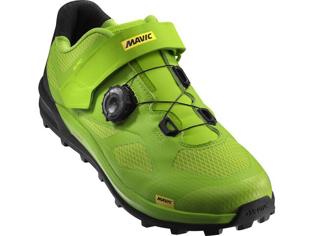 Mavic XA Pro Shoes Men Lime Green/Pirate Black/Safety Yellow